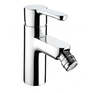 Bristan Nero Bidet Mixer with Pop Up Waste Chrome