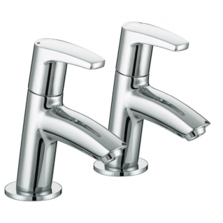 Bristan Orta Basin Taps Pair Chrome