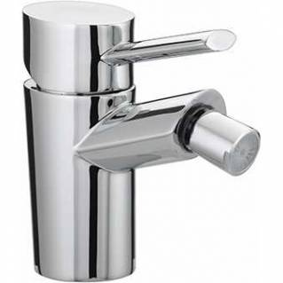 Bristan Oval Bidet Mixer with Pop Up Waste Chrome