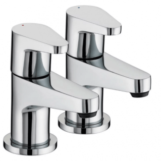 Bristan Quest Bath Taps Pair Chrome