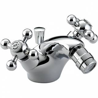 Bristan Regency Bidet Mixer with Pop Up Waste Chrome