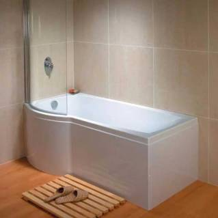 Carron Aspect Shower Bath 1700 x 700/800mm Left Hand