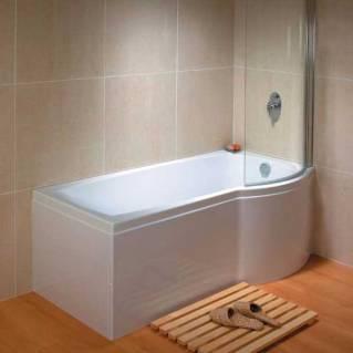 Carron Aspect Shower Bath 1700 x 700/800mm Right Hand