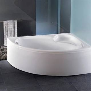 Carron Dove Corner Bath 1550 x 950mm Left Hand