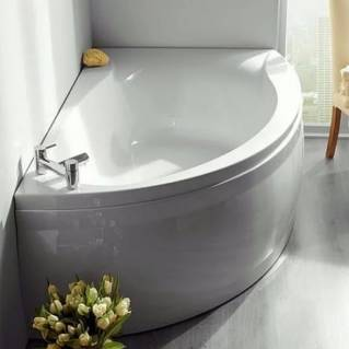 Carron Omega Corner Bath 1700 x 1000mm Left Hand
