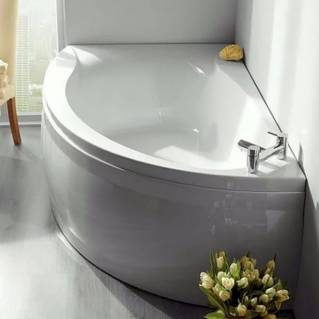 Carron Omega Corner Carronite Bath 1700 x 1000mm Right Hand