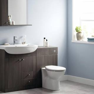 Ikoma Bodega Grey WC Unit 550mm