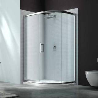 Merlyn 6 Series 1 Door Offset Quadrant Shower Enclosure 1200 x 800mm