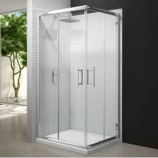 Merlyn 6 Series Corner Shower Door 900 x 900mm