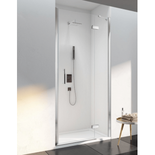 Merlyn 6 Series Frameless Hinge and Inline Shower Door 1200mm