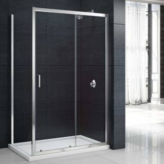 Merlyn MBox Sliding Shower Door 1400mm