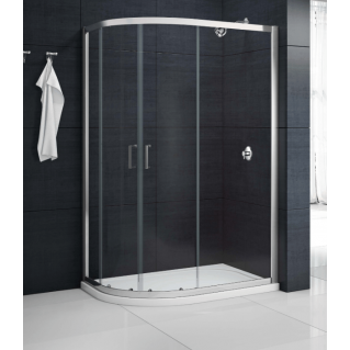 Merlyn MBox 2 Door Offset Quadrant Shower Enclosure 900 x 760mm