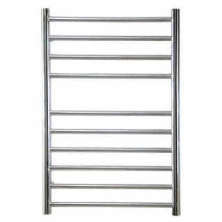 Reina Luna Stainless Steel Heated Towel Rail 600 x 300mm