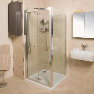 Roman Embrace Bi-Fold Shower Door 760mm