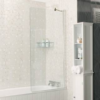 Roman Embrace Fixed Bath Screen 800mm