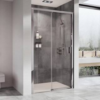 Roman Embrace Level Access Sliding Shower Door Left Hand 1000mm