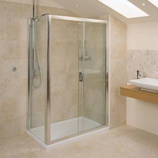 Roman Embrace Sliding Shower Door 1000mm