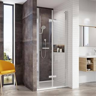 Roman Innov8 Bi-Fold Shower Door Alcove Fitting 760mm