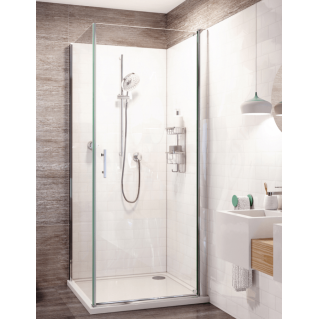 Roman Innov8 Pivot Shower Door Corner Fitting 760mm