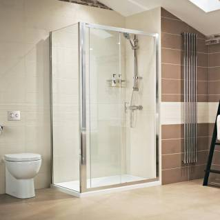 Roman Lumin8 Sliding Shower Door 1000mm