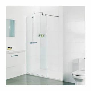 Roman Select 10mm Wetroom Corner Panel 600mm