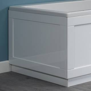 Roper Rhodes 800 Series 750mm Gloss White Bath End Panel