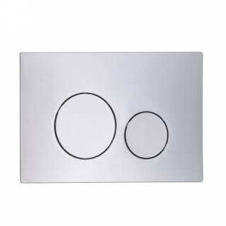 Roper Rhodes Rondo Dual Flush Plate Chrome