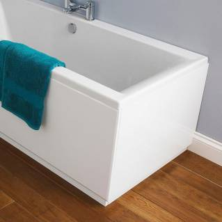 Roper Rhodes Signatures 700mm Gloss White Bath End Panel