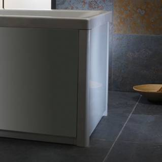 Roper Rhodes UNO 700mm Gloss White Bath End Panel
