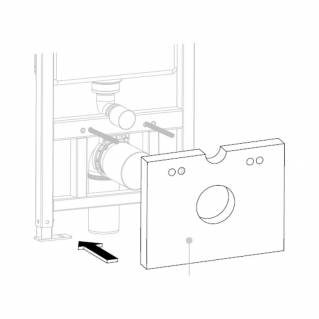 Roper Rhodes Wall Hung Frame Furniture Adapter Kit