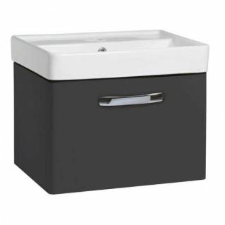 Tavistock Compass 500mm Wall Mounted Vanity Unit & Basin Gloss Clay
