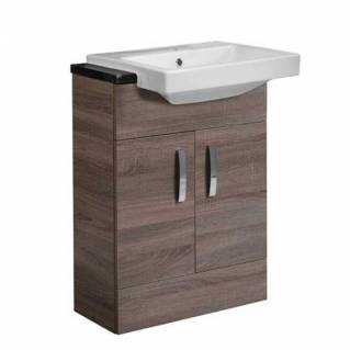 Tavistock Courier 600mm Semi-Countertop Unit Montana Gloss