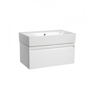 Tavistock Forum 700mm Wall Mounted Vanity Unit & Basin Gloss White