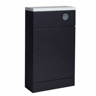 Tavistock Kobe 510mm Back to Wall WC Unit & Worktop Storm Grey