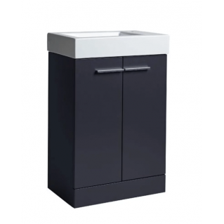 Tavistock Kobe 560mm Freestanding Vanity Unit & Basin Storm Grey