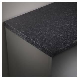 Tavistock Lansdown 2000mm Laminate Worktop Black Granite