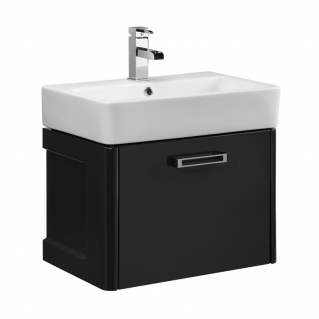 Tavistock Q60 570mm Wall Mounted Vanity Unit & Basin Graphite