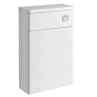Tavistock Q60 Back To Wall WC Unit & Worktop Gloss White