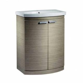 Tavistock Tempo 650mm Freestanding Vanity Unit & Basin Light Java