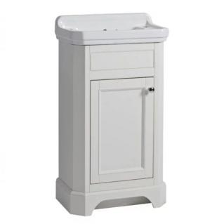 Tavistock Vitoria 500mm Cloakroom Vanity Unit & Basin Linen White