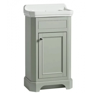 Tavistock Vitoria 500mm Cloakroom Vanity Unit & Basin Pebble Grey