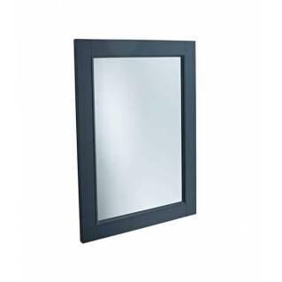 Tavistock Vitoria 570mm Wooden Framed Mirror Matt Dark Grey