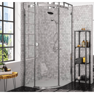 Merlyn 10 Series 1 Door Quadrant Shower Enclosure Left Hand with Tray 800 x 800mm