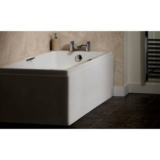 Carron Eco Integra Twin Grip Single Ended Bath 1500 x 700mm