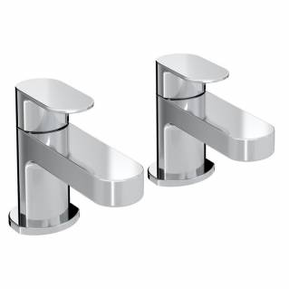 Bristan Frenzy Basin Taps Chrome