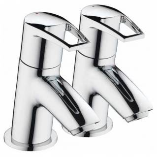 Bristan Smile Bath Taps Chrome