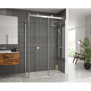 Merlyn 10 Series Optional Side Panel for Sliding Shower Doors