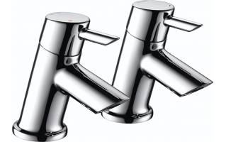 Bristan Acute Bath Taps Chrome