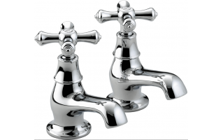 Bristan Colonial Bath Taps Chrome