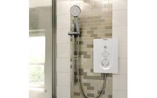 Bristan Smile 9.5kw Electric Shower White